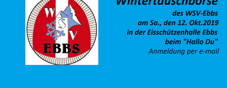 Wintertauschbörse am 12.Okt. 2019