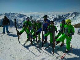 Ski Down in Saalbach