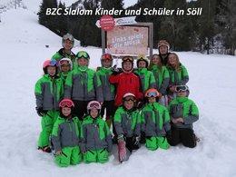 SPK Bez. Cup Slalom Schüler und Kinder in Söll